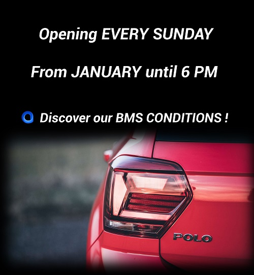 Opening every Sunday